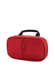 Несессер Victorinox Lifestyle Accessories 4.0 Overmight Essentials Kit, красный, нейлон, 23 x 4 x 13 см