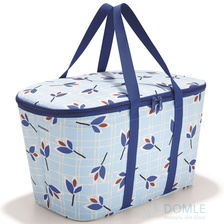 Термосумка Coolerbag leaves blue